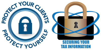 IRS and ISTC security logos