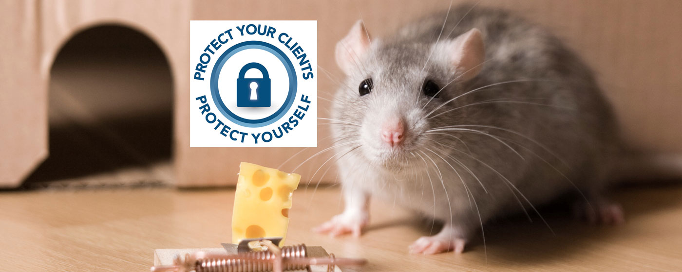 Be aware and<br>&hellip;don't take the bait!<br><br>Tax professionals, <b>protect your clients</b>.<br><br>Read these <a href='i-2012.cfm?nsl=1'>quick security tips on the latest scams</a>.